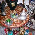 artisanat du monde - objets - bijoux déco -  Liban - Egypte - Maroc - Mali