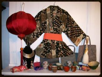 artisanat du monde - objets - bijoux - déco - Chine - Japon