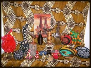 Artisanat du monde - objets - bijoux - déco - Afrique du Sud - Kenya - Madagascar - Togo - Burkina Faso