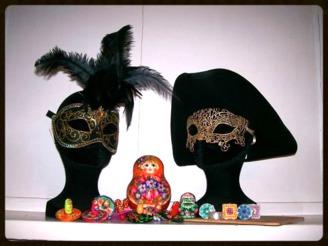 artisanat du monde - objets - bijoux - déco - Russie - Italie