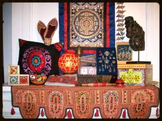 Artisanat du monde - objets - bijoux - déco - Inde - Pakistan - Tibet - Népal